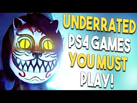 10 GREAT Underrated PS4 Games You Should Play THIS SUMMER!
