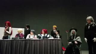 Kumoricon 2016 black butler tea party panel. Hopefully I did a okay...
