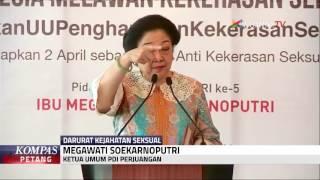 Megawati Angkat Bicara Soal Kejahatan Seksual