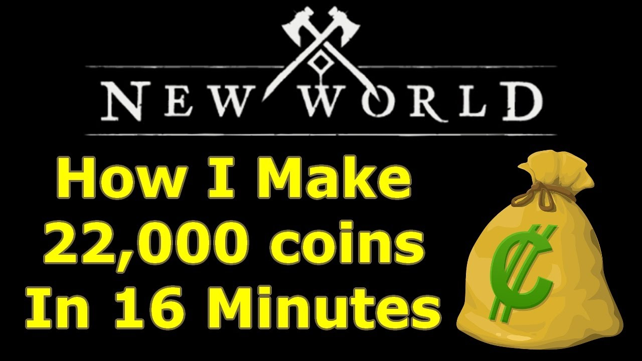 How I make 22000 New World coins in 16 Minutes EVERY DAY