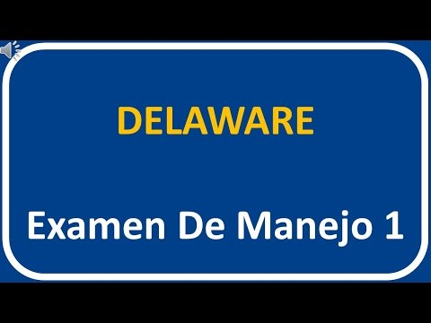 Examen De Manejo De Delaware 1
