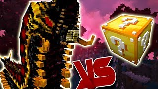 BATTRA LARVA VS. LUCKY BLOCK (MINECRAFT LUCKY BLOCK CHALLENGE)