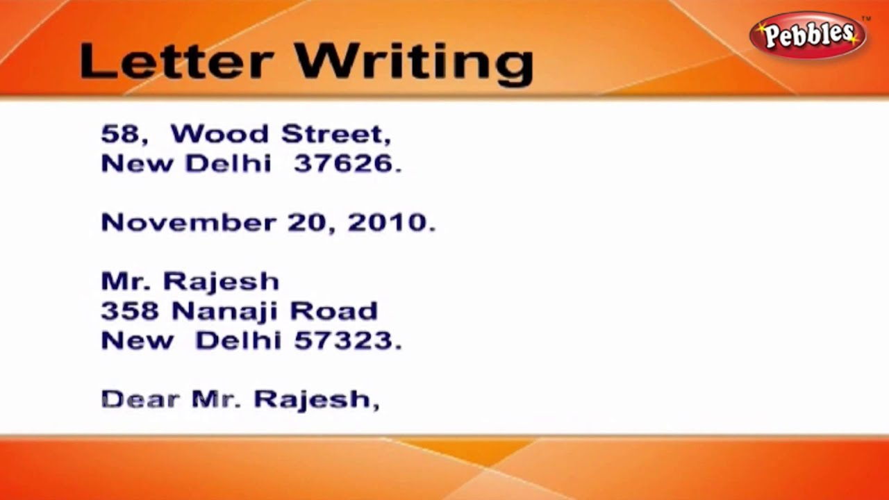 How To Write Apology Letters  Letter Writing In English  Writing