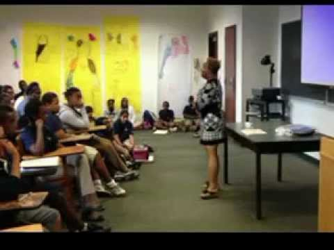 CWHF Honoree Jolie Rocke Brown @ Stepping Stone Academy