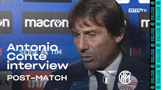 "LAZIO 2-1 INTER | ANTONIO CONTE EXCLUSIVE INTERVIEW: ""We should be conditioning the events""[SUB ENG]"