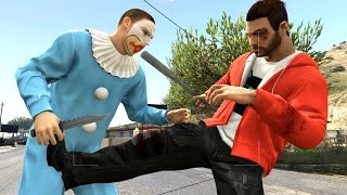 GTA 5 Online With Subscribers in Zombie Clown Town