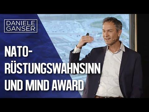 Dr. Daniele Ganser: NATO-Rüstungswahnsinn in Deutschland und Mind Award (Montabaur 26.3.2019)