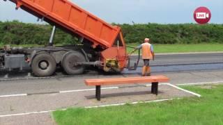 Ремонтируется дорога на Ружаны (2017)