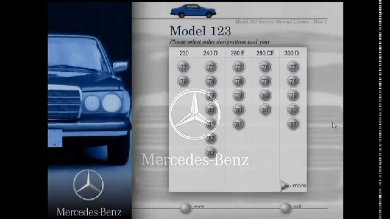 mercedes benz model 123 service manual library youtube rh youtube com w123 workshop manual w123 service manual online