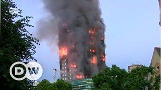 Londra'da korkutan yangın - DW Türkçe