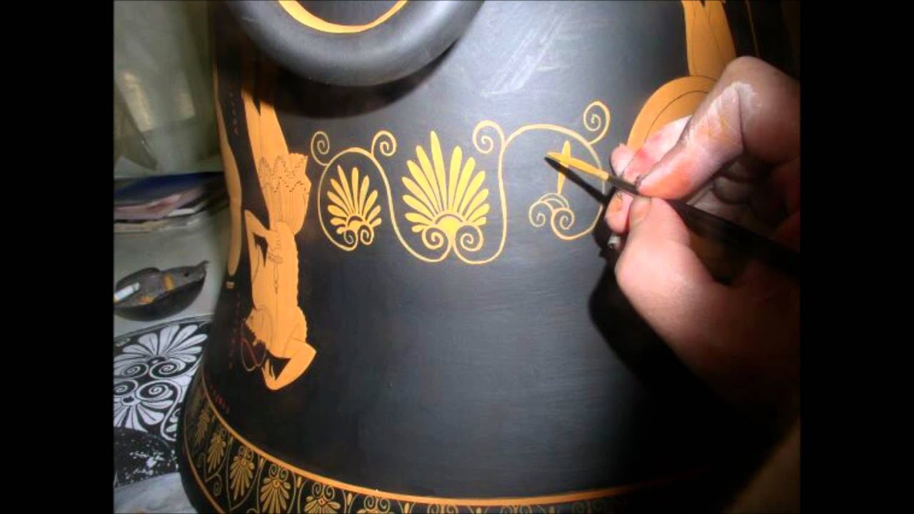 How were the ancient greek vases made painting process youtube reviewsmspy