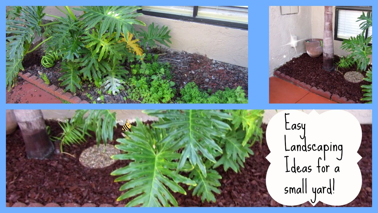 easy landscaping ideas small