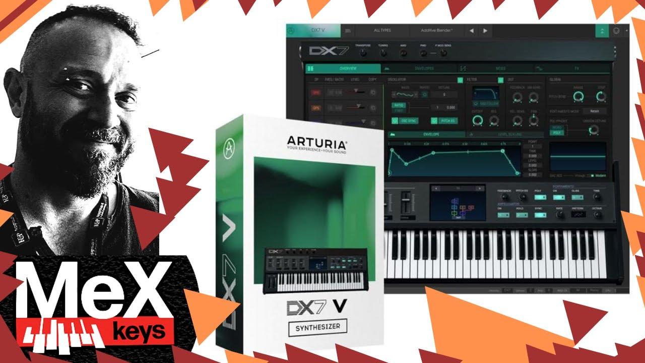 Download Arturia DX7 V by MeX (Subtitles)