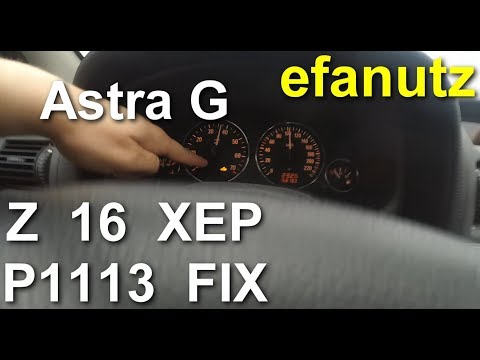 Port Deactivation Position Sensor Error (SOLVED) - Opel/Vauxhall  Astra  Z16XEP  - P1113  FIX
