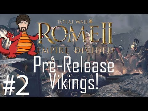 Total War: Rome 2 - Empire Divided | Saxoni Viking Dominance #2