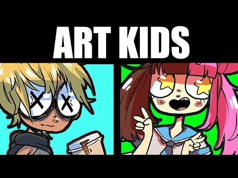 THE 5 PEOPLE YOU MEET AT ART SCHOOL