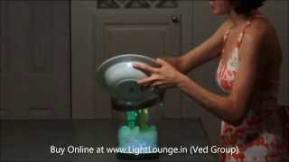 Philips Lumiware Colour Changing LED Champagne Bucket/Wine Cooler/Ice Bucket/Bottle Cooler (HD)