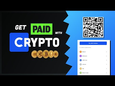 Get Paid with Crypto in your App // Coinbase Commerce Tutorial