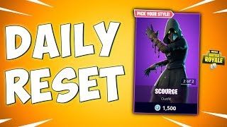 NEW SCOURGE SKIN - The New Skins in Fortnite Item Shop (Daily Reset)