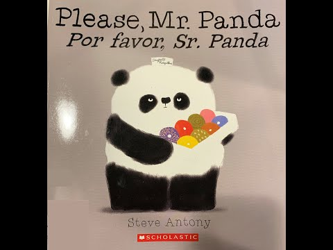 Please, Mr Panda By Steve Antony - Read Aloud By Six Year Old