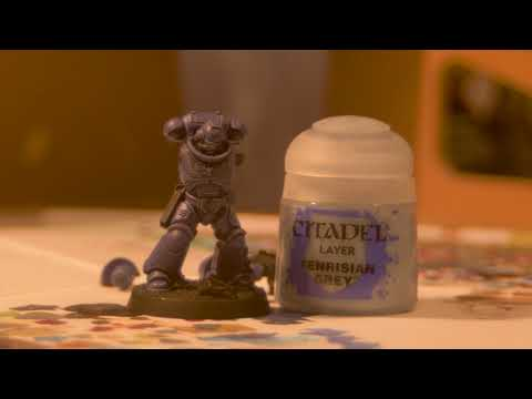 Bloodied Brush Studio Painting Tutorial 1. Primaris Marine