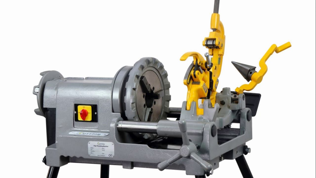 Download C·Cutting SQ50E Pipe Threading Machine Operation on 2 Inch Pipe