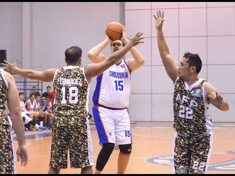 UNTV Cup 4: Ombudsman Graft Busters vs AFP Cavaliers - FULL GAME - November 01, 2015