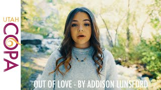 Addison Lunsford sings Out of Love