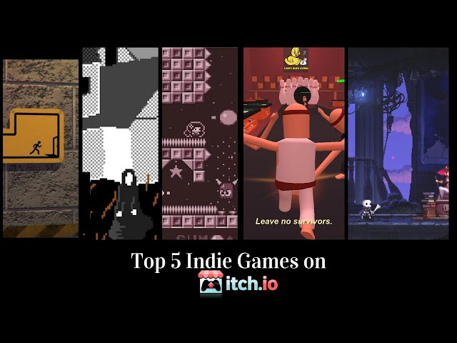 Top 5 Indie Games from Itch.io!