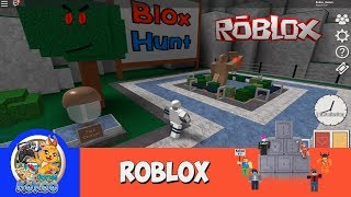 ROBLOX BLOX HUNT HIDE AND SEEK GAMEPLAY BUT BEING OBJECTS AND HIDING FROM PEOPLE PLAYFREE
