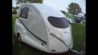 Going Cockpit II Caravan. Micro Tourer. Tiny 2 berth caravans. Sole UK Agents. Cockpit S Go-Pods.