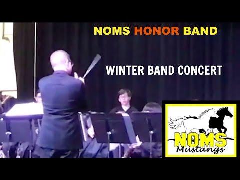 North Oaks Middle School Winter Concert 2016 : Rudolph , Olde English Carol, Christmas Festival