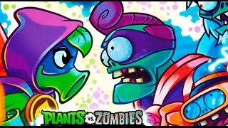 РАСТЕНИЯ против ЗОМБИ #1 - Plants vs. Zombies Heroes - игра про мультик #КРУТИЛКИНЫ