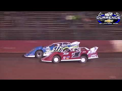 Talladega Short Track 10/12/18 Durrence Layne Racing Series B-Mains 1 and 2!
