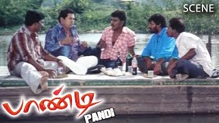 Pandi Tamil Movie | Scene |  Myilsamy Noval Comedy