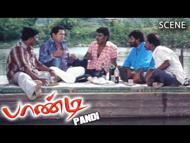 Pandi Tamil Movie | Scene |  Myilsamy Noval Comedy