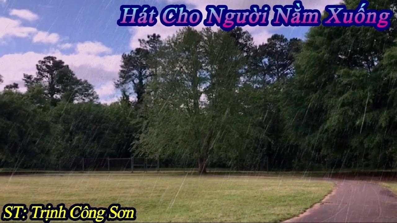 Hát Cho Người Nằm Xuống (Tuấn Anh Cover) | Karaoke By Ha Thu