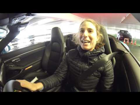 Parking Challenge with Johanna Konta - Porsche Tennis Grand Prix 2016