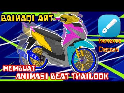 SPEED ART | MEMBUAT ANIMASI BEAT THAILOOK |INFINITE DESIGN