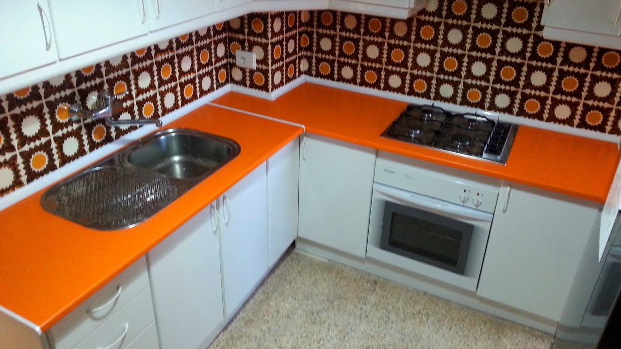 C mo cambiar una encimera de cocina how to change a kitchen counter youtube - Cambiar encimera cocina ...