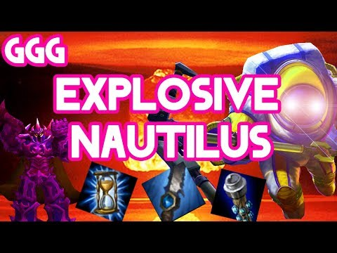 EXPLOSIVE NAUTILUS DOESN'T NEED SMITE - League of Legends thumbnail