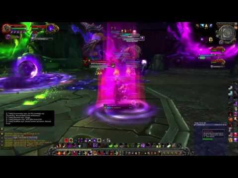 World of Warcraft Warlock Solo: Xhul'Horac (Hellfire Citadel) 7.03
