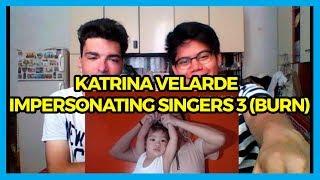KATRINA VELARDE - IMPERSONATING SINGERS 3 (BURN) REACTION
