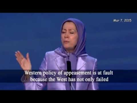 Maryam Rajavi Speaks Out - Freedom for the Women of Iran