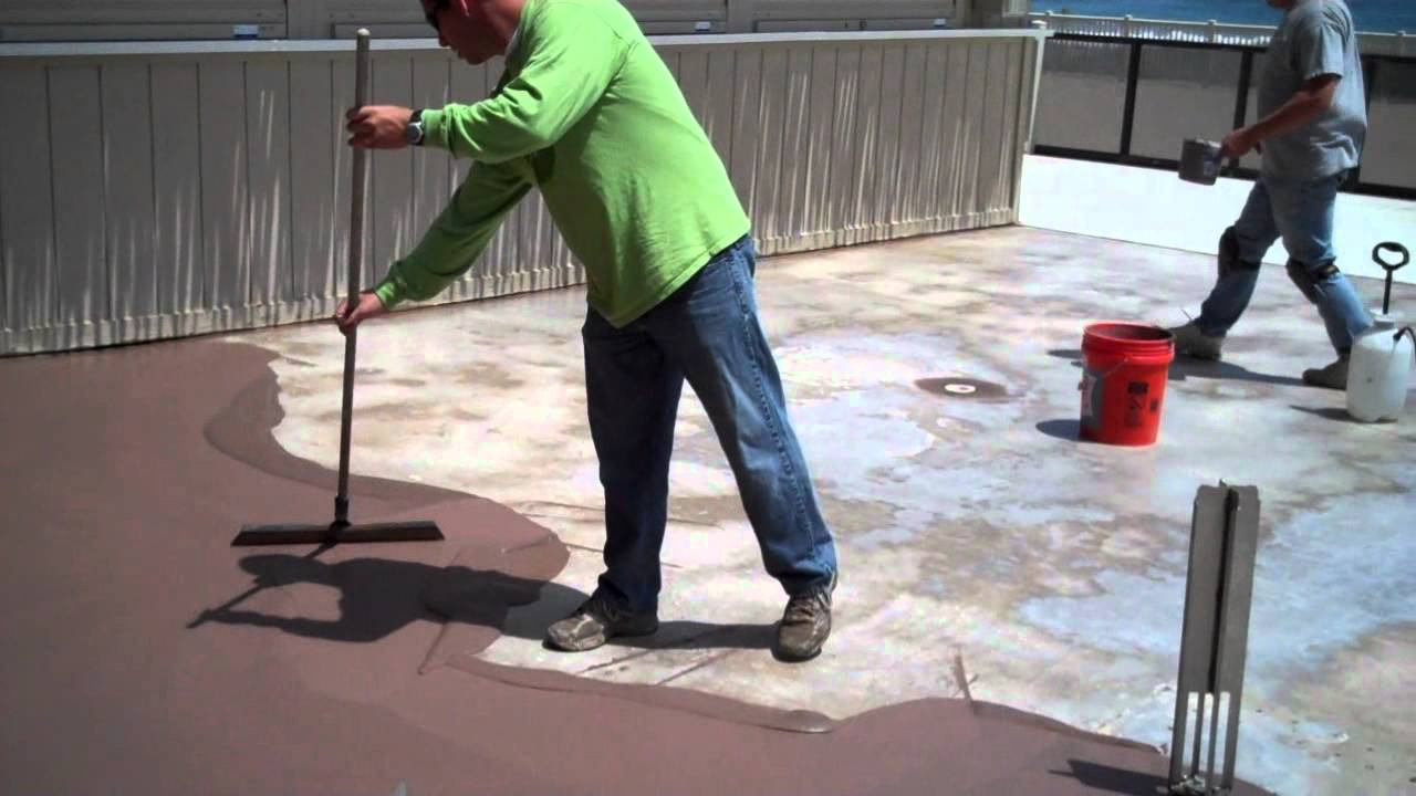 Trucrete Decorative Concrete Techniques Skim Coat