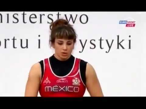 2013 Globe Weightlifting Championships Womens 75 Kg Thoroughly Clean And Jerk & Snatch