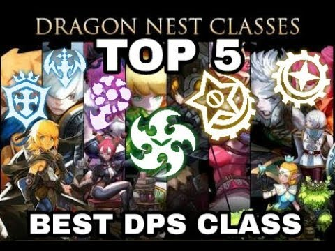 Dragon Nest Top Tier Dps 2019