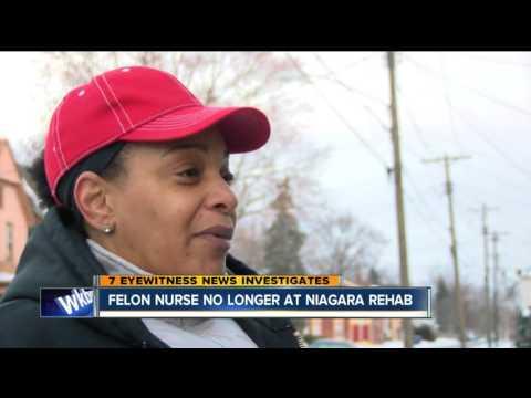 Criminal Caregivers update: Felon nurse out of a job at Niagara Rehab