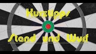 Kurztipps   Stand und Wurf   Lektion 1