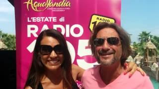 Ylenia e DJ Giuseppe ad Aqualandia